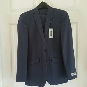 Kenneth Cole/ Unlisted/navy 2 piece suit